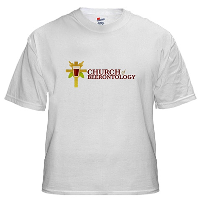 Church of Beerontology T-shirt