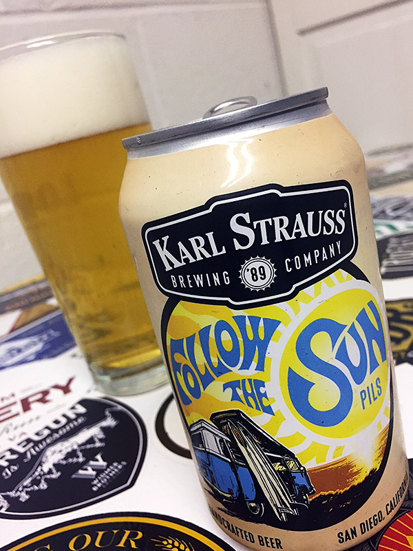 Karl Strauss Follow the Sun Pils photo