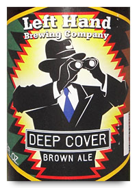 Left Hand Deep Cover Brown Ale
