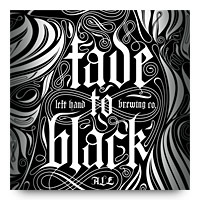 Left Hand Brewing Fade to Black label
