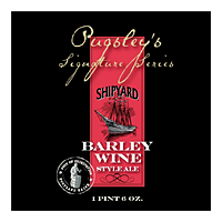 Pugsley's Signature Series Barleywine label