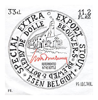 Beer Label: De Dolle Extra Export Stout