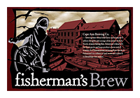 Beer Label: Cape Ann Brewing Fisherman's Brew