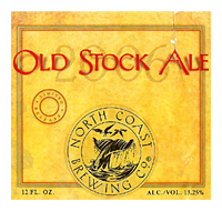 Beer Label: North Coast Old Stock Ale