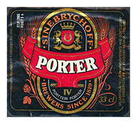 Beer Label: Sinebrychoff Porter