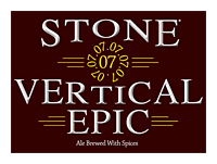 Beer Label: Stone 07.07.07 Vertical Epic