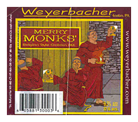 Beer Label: Weyerbacher Merry Monks' Ale