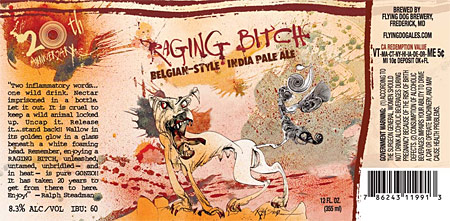 Label: Flying Dog Raging Bitch