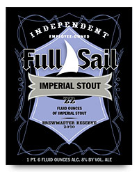 Full Sail Brewing Imperial Stout