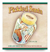 Ridgeway Pickled Santa