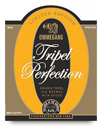 Ommegang Tripel Perfection label