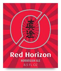Nøgne Ø Red Horizon label