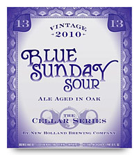 New Holland Blue Sunday label