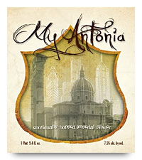 My Antonia label