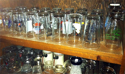 Beer glasses photo