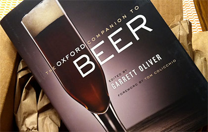 Oxford Companion to Beer Cover photo