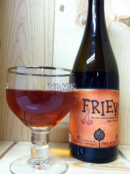 Odell Brewing Friek photo