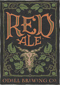 Odell Brewing Red Ale label artwork