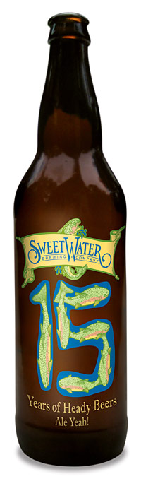 Sweetwater 15 Years bottle