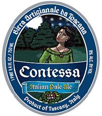 Contessa Pale Ale label