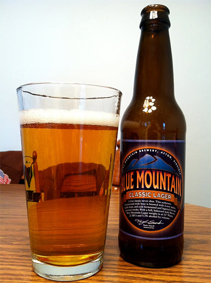 Blue Mountain Classic Lager photo