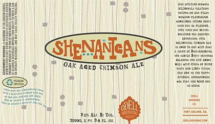 Odell Shenanigans label