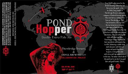 Pond Hopper label