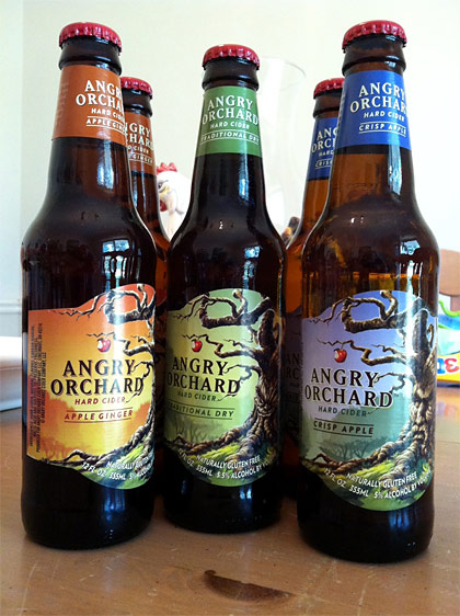 Angry Orchard Beer Logo