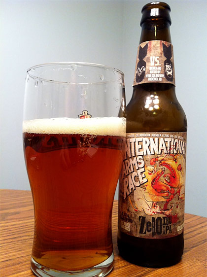 Flying Dog Brewing International Arms Race photo