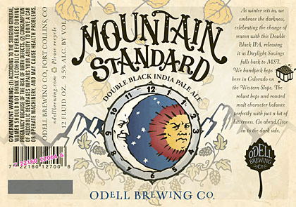 Odell Mountain Standard label