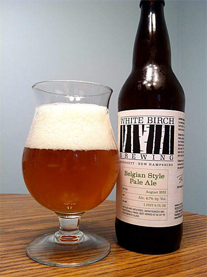 White Birch Brewing Belgian Pale Ale photo