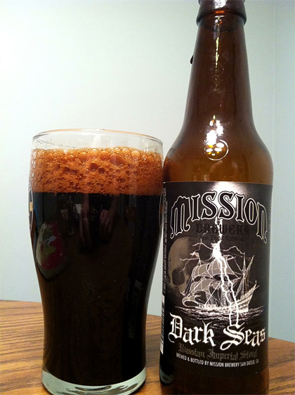 Mission Brewery Dark Seas photo