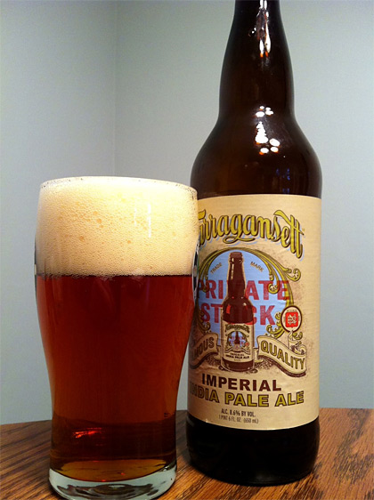Narragansett Private Stock Imperial IPA photo