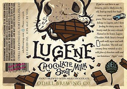 Lugene label artwork