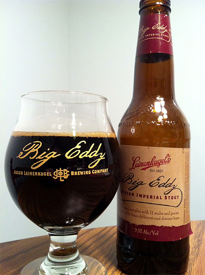 Leinenkugel's Big Eddy Russian Imperial Stout Two Year Tasting photo