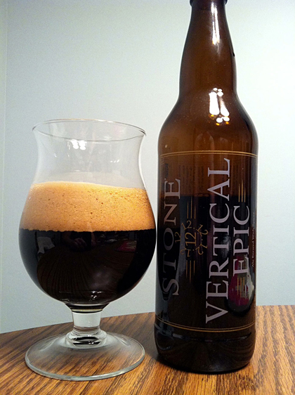 Stone Brewing Vertical Epic 12.12.12 photo