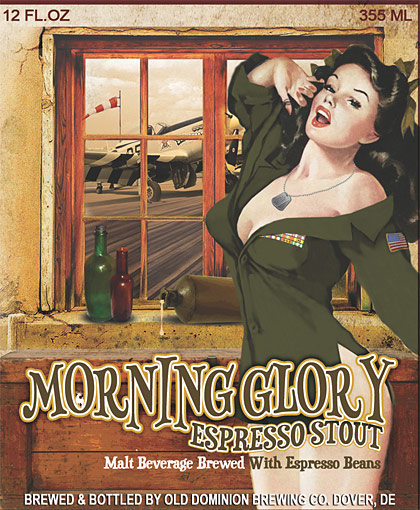 Morning Glory label artwork