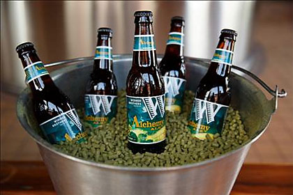 Widmer Brothers Alchemy Ale promotional photo