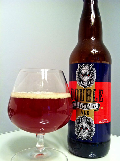 Shipyard Brewing Double Old Thumper (2 year tasting) photo