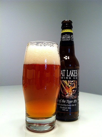 Great Lakes Brewing Rye of the Tiger IPA photo