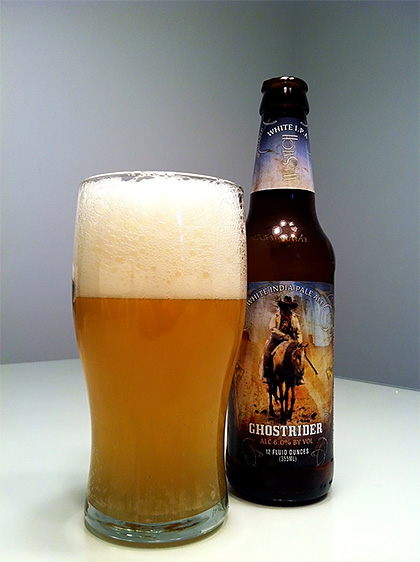 Wasatch Ghostrider White IPA photo