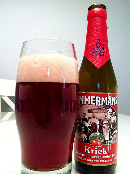 Timmermans Kriek Lambic photo