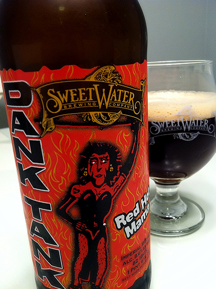 Sweetwater Brewing Red Hot Mama bottle