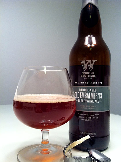 Widmer Brothers 2013 Barrel-Aged Old Embalmer photo