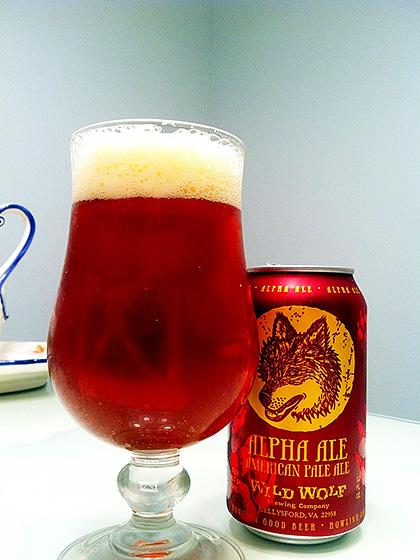Wild Wolf Brewing Alpha Ale