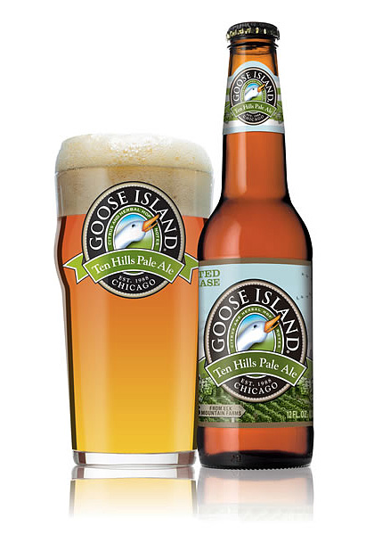 Goose Island Introduces New Pale Ale, Ten Hills photo