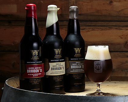Widmer Brothers Brewing Announce Three Versions of Barrel-Aged Brrrbon photo