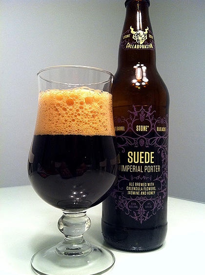 10 Barrel / Blue Jacket / Stone Brewing Suede Imperial Porter photo