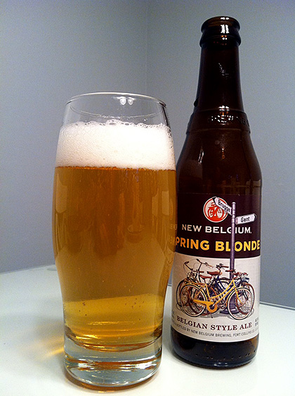 New Belgium Brewing Spring Blonde photo