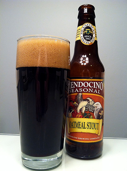 Mendocino Brewing Oatmeal Stout photo